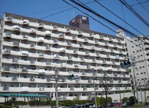 セントラルマンションの外観写真