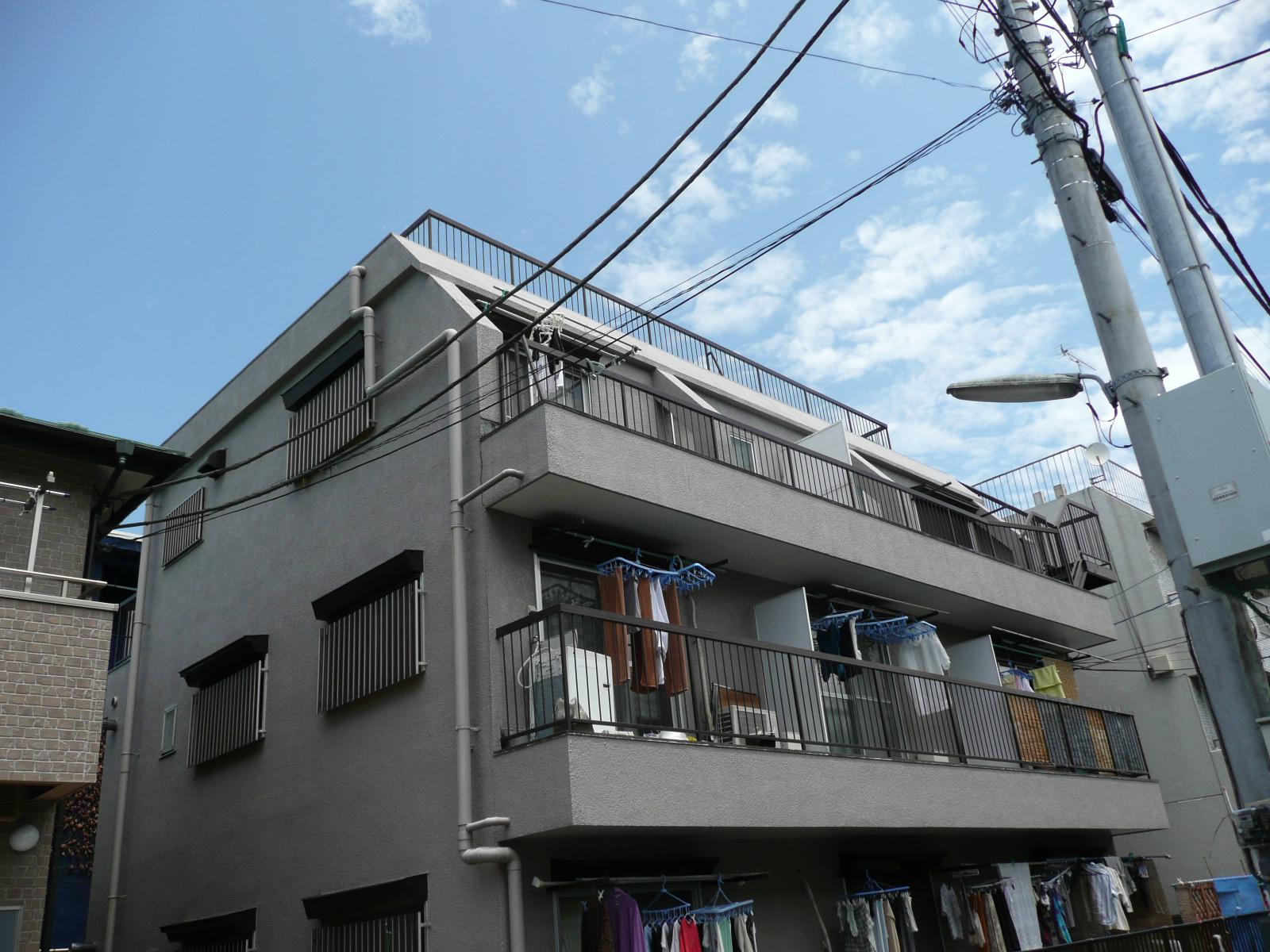 高千穂マンションの外観写真