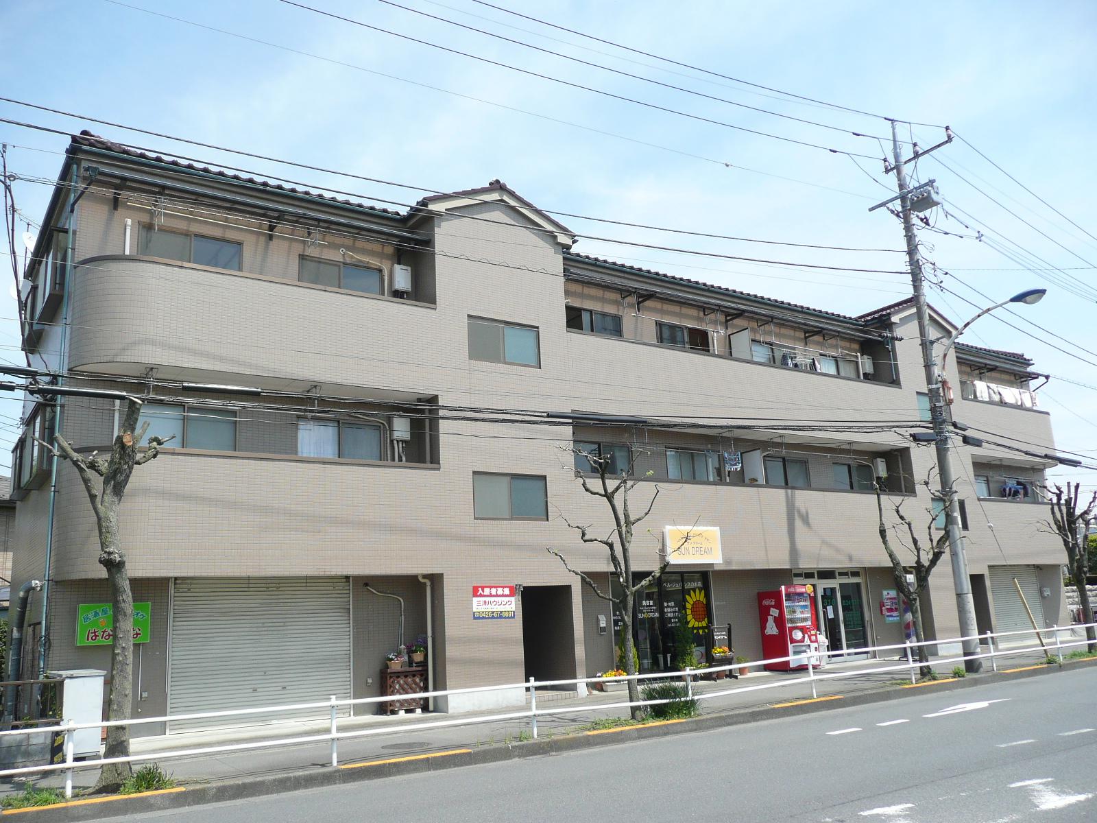 松本マンションA の外観写真
