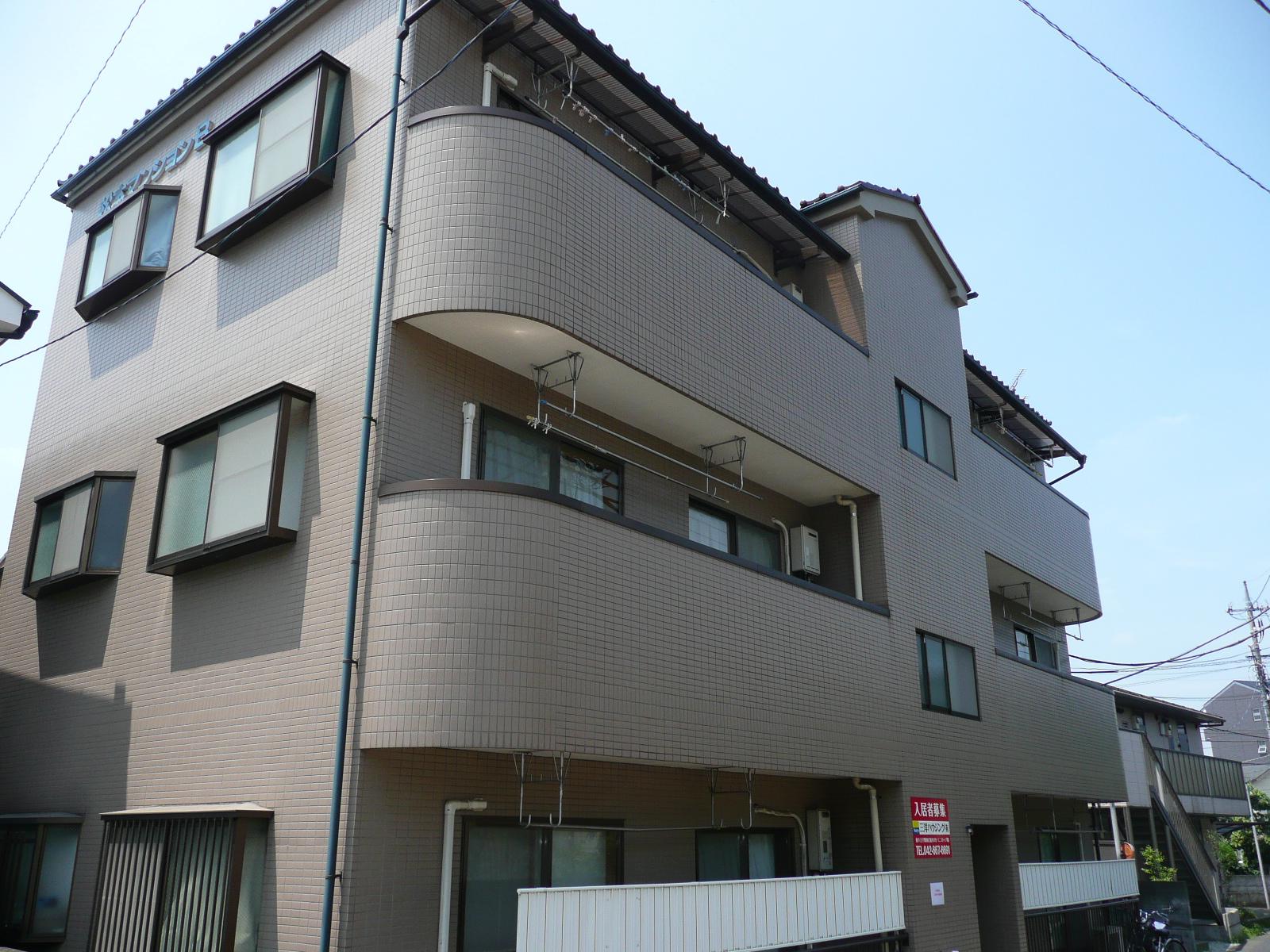 松本マンションBの外観写真