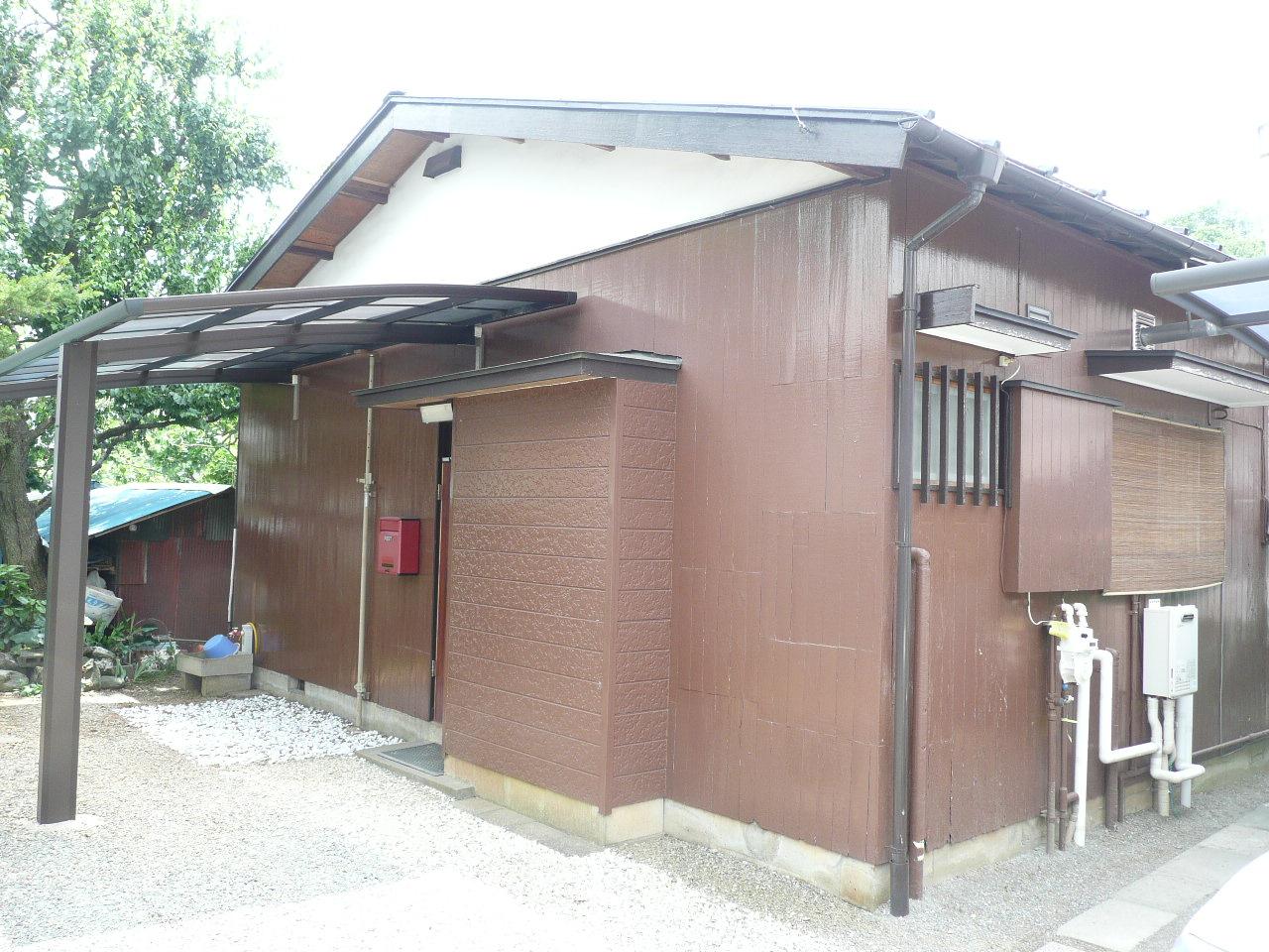 横川貸家の外観写真