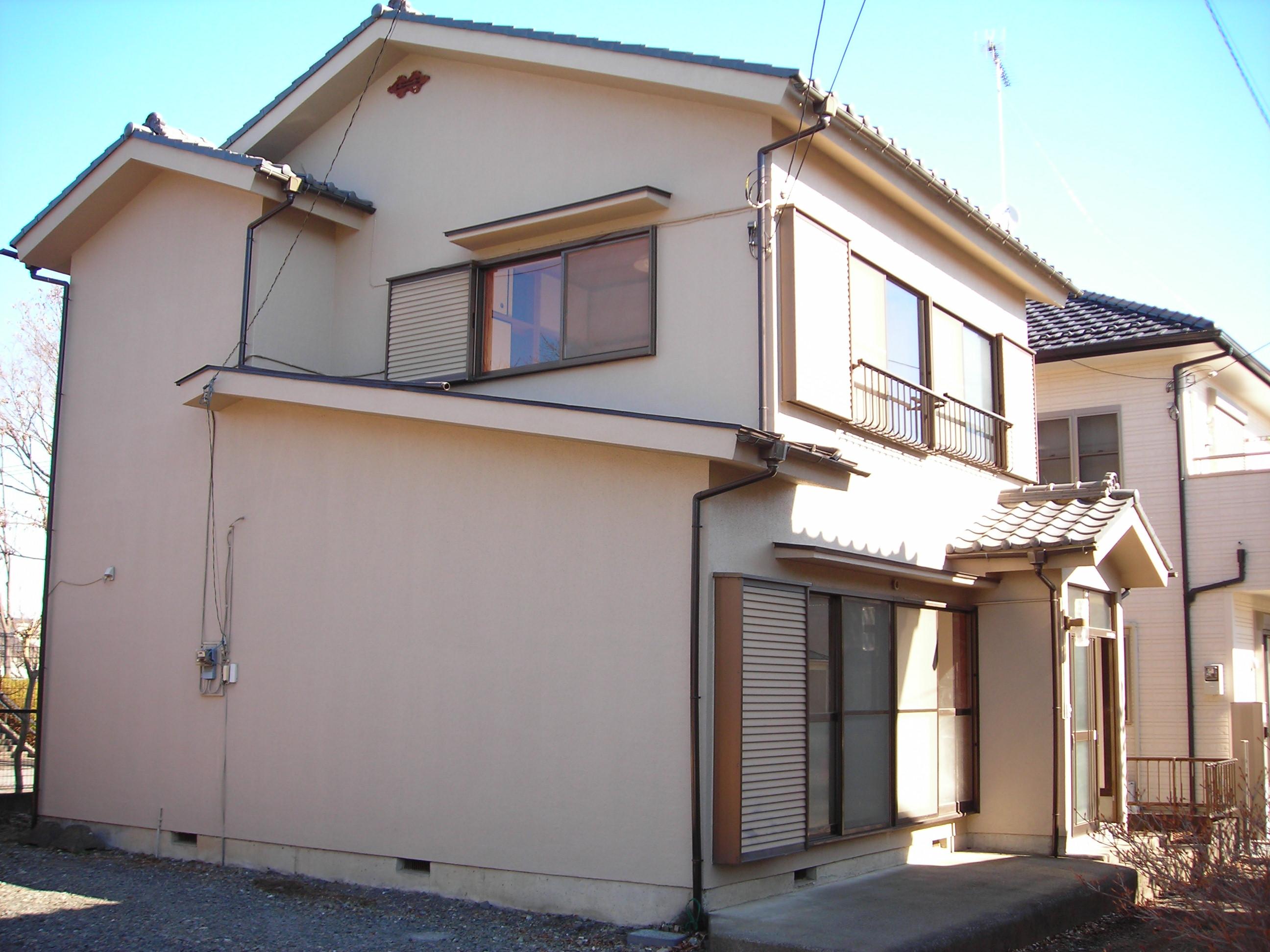 渡辺戸建貸家の外観写真