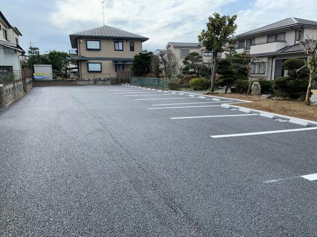 設楽駐車場(舗装)の写真