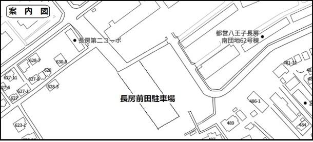 長房町前田月極駐車場の写真