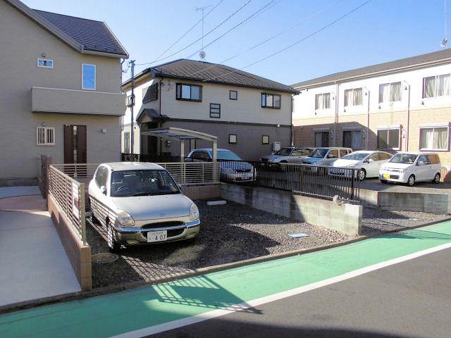 飯島駐車場の写真