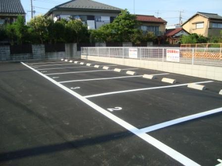 橋本駐車場の写真